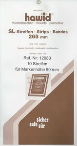Hawid Stamp Mounts 265 x 80
