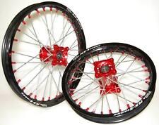 ***FA-BA*** RUOTE COMPLETE mozzo CNC HONDA CRF 150  MINIMOTARD  complete wheel