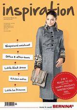 Nuevo Bernina inspiración uno XNo.54 otoño/invierno 2012 Revista De Costura