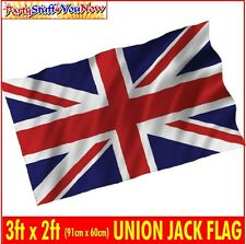 UNION JACK FLAG 3FT x 2FT GREAT BRITAIN UNION FLAG SUITABLE FOR VE DAY