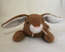 Ears the Bunny Ty Beanie Baby Brown and White