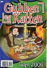 Pettersson und Findus NORWEGISCH: Gubben Og Katten Julen 2006 Weihnachten Comic