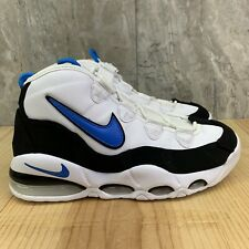 Nike Air Max Uptempo 95 Size 10.5 Mens White Photo Blue Basketball Shoes