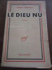 Robert Margerit: Le Dieu nu/ Gallimard