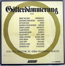 SEALED MONO 6 LP CLASSICAL LP Box: WAGNER GOTTERDAMMERUNG SOLTI VIENNA London