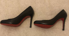 Christian Louboutin Leather Simple Pump, Black. Never Worn RRP £585