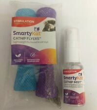 Smarty Kat Catnip Mist Spray and Cat Toy for Stimulation and Fun
