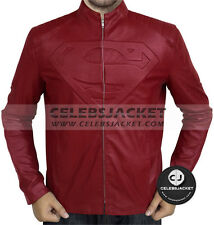 Superman Red Smallville Leather Jacket By CelebsJacket
