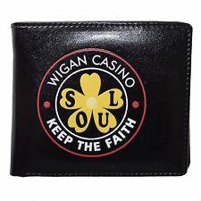 Wigan Casino Keep The Faith Black Wallet