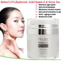 MELAO 2.5% Rétinol Vitamine A Anti-âge Ride Acné Acide Hyaluronique Crème