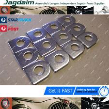 JAGUAR CHROME D HEAD WASHERS C2385 x12