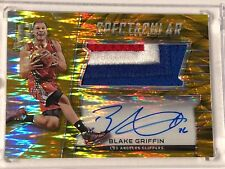 2015-16 Panini Spectra BLAKE GRIFFIN Patch Auto Spectacular GOLD SS-BG 05/10