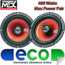 Renault Megane Break MK1 MTX 16cm 6.5 Inch 480W 2 Way Front Door Car Speakers
