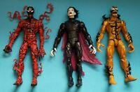 Marvel Legends Carnage, Morbius, Phage (Venompool wave figures)