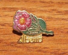 Unbranded Alberta Provincial Wild Rose Flower Collectible Pin / Brooch *READ*
