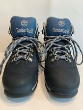 Timberland Sz 8 Women's Navy Blue High Top Lace Up Boots 85378
