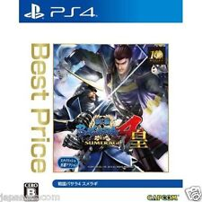 Sengoku Basara 4 Sumeragi (Best Price) CAPCOM SONY PS4 JAPANESE NEW JAPANZON