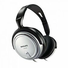 Philips SHP2500/10 Over-Ear Indoor Corded Headphone for Music/PC/TV - Gray