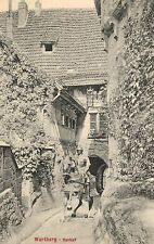 Wartburg,Germany,Vorhof,Thuringia,Used,1913