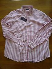 NWT $395 RALPH LAUREN PURPLE LABEL LONG SLEEVE SHIRT SZ 17.5,  MADE IN ITALY