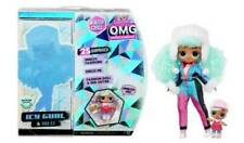LOL Surprise OMG Winter Chill ICY Gurl Fashion Doll Brrr BB Doll + 25 surprises