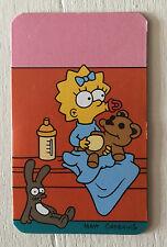 The Simpsons fridge magnet, Maggie Simpson, fresh, clean, new, rare, unused