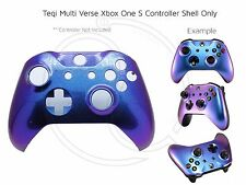 New Xbox One S Controller Front Shell Colour Change Purple blues Unique custom
