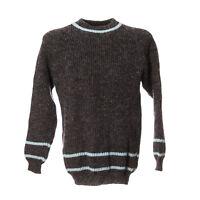 Herren Vintage Strickpullover Sweater Größe M Pullover Retro Streifen