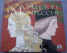 BELLINI CAPULETI MONTECCHI Larmore Hei-Kyung Hong Runnicles TELDEC 2 x CD Opera