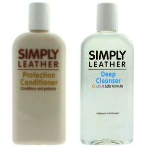 Simply Leather Cleaner & Protection Conditioner For Car, Sofa, Handbag, Coat etc