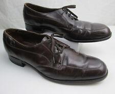Vintage Brown Florsheim Dress Shoes 13 B Lace Up Bluchers Model 31884 PREOWNED