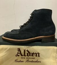 NIB J Crew X Alden 405 Indy Boots In Suede Mens Size 9.5 Made in USA $599