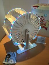 LED Candy Carro Noria, Nueva, montado, 60cm alto, freetongs, Cuchara, 100 bolsas, signo