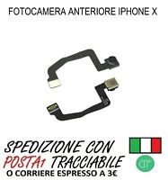 FLAT FOTOCAMERA ANTERIORE CAMERA FRONTALE PER APPLE IPHONE X