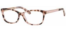 Kate Spade Angelisa S14 Eyeglasses Pink Havana Gold Frame 53mm