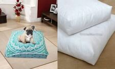 Indian Mandala Square Floor Pillow Ottoman Cotton Cushion Cover Large Dog Bed