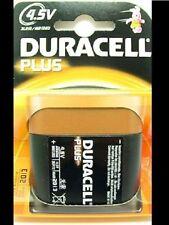 2-9 Batterie monouso 4.5 v Duracell per articoli audio e video