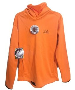 Realtree Hunter Orange Youth XXL 18 Tech Hoodie Neck Gaiter Scent Control