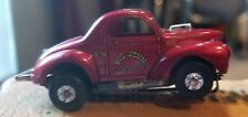 Vintage Aurora T-Jet Modified/ Willys Gasser Ho, loaded Aurora chassis Pls read!