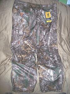 Men 2X Camo Pants Realtree Camo Hunting Pants Advanced Scent Control Pants $140