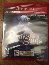 Demon's Souls (Sony PlayStation 3, 2009) Brand new, Greatest Hits