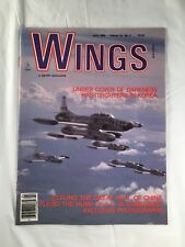Wings Magazine April 1988 C-46 Plane Aircraft Back Issue US Military Air Force