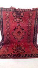 Moroccan Berber Vintage Rug 5x7 ft Azilal tribal rug morocco handmade wool rugs