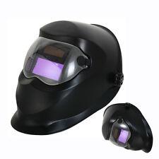Pro Solar Auto Darkening Welding Helmet Arc Tig Mig Mask Grinding Black HY15
