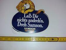 Aufkleber Zigarettenwerbung - Samson- Laß dir nichts andrehn Dreh Samson