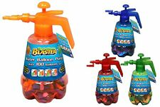 Red Hydro Blaster Water Balloon Pump with Multicoloured 100 Balloons (HL637-RED)