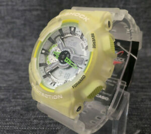 CASIO GA-110LS-7A SKELETON SPECIAL COLORS ANALOGUE & DIGITAL BRAND NEW
