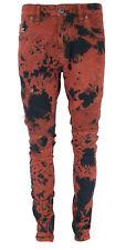New UK Mens Ripped Jeans Pants  Distressed Slim Fit Biker Casual Denim Trouser
