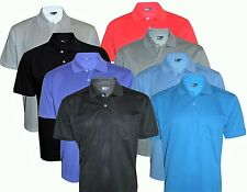 NEW Men's T-Shirts Loose Fit PK Polo Plain With Pocket Polycotton Size S to 6XL