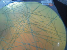 """Dichroic Glass:CBS 90 COE Chopstix on Cyan/Red Clear - 3""""Sq"""